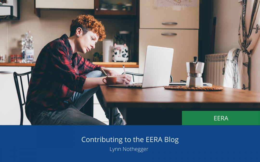 Contributing to the EERA Blog