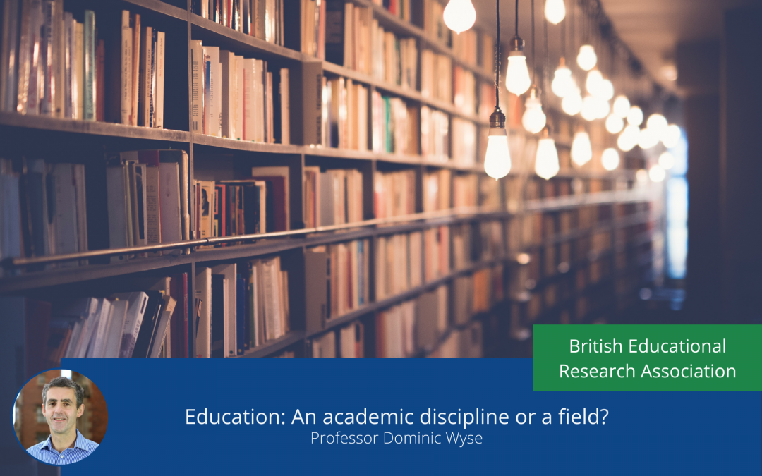 Education: An academic discipline or a field?