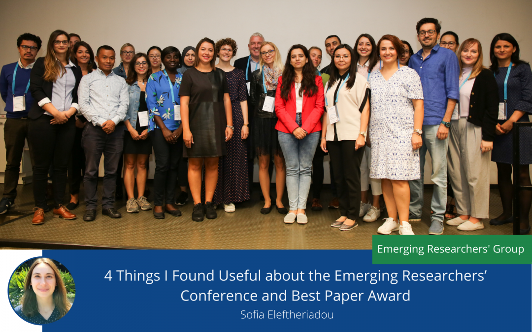 4 Things I Found Useful about the Emerging Researchers' Conference and Best Paper Award