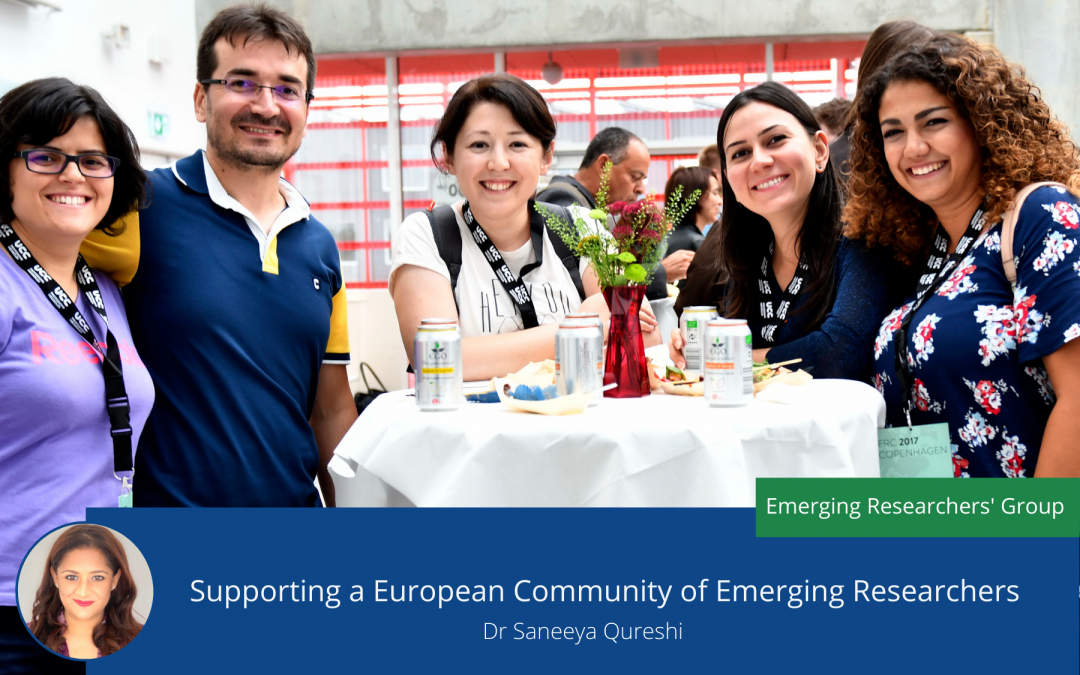 Supporting a European Community of Emerging Researchers