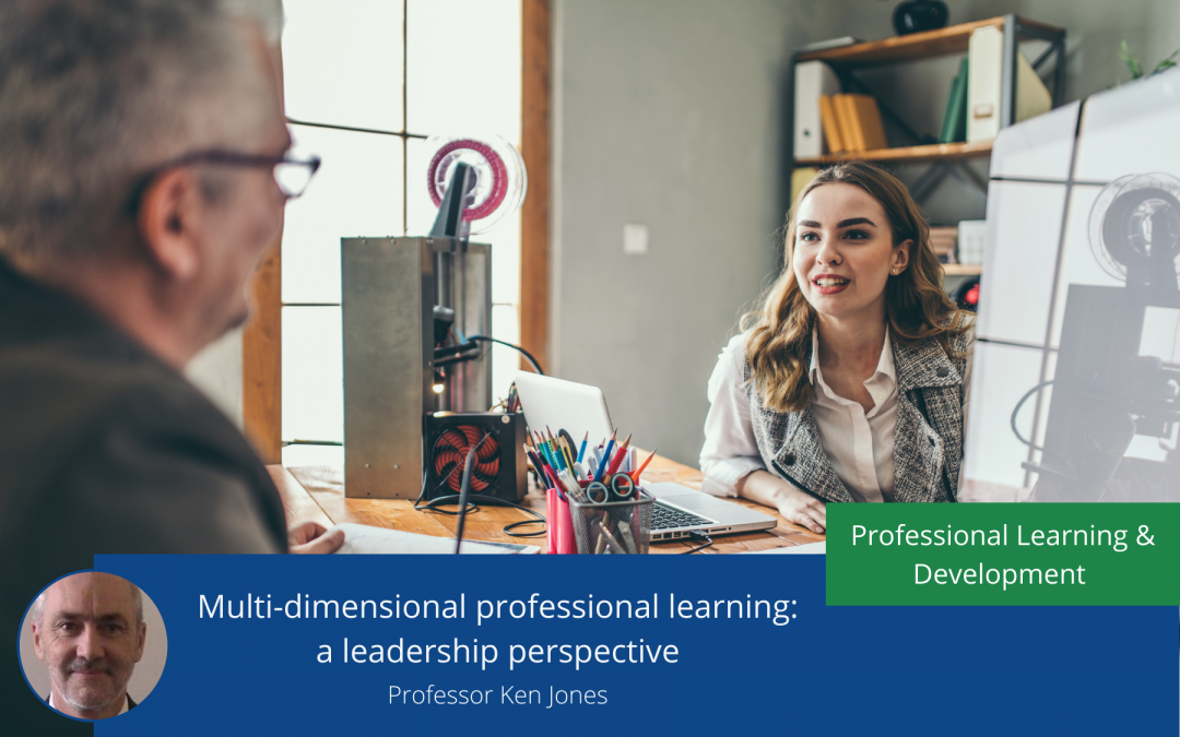 Multi-dimensional professional learning: a leadership perspective