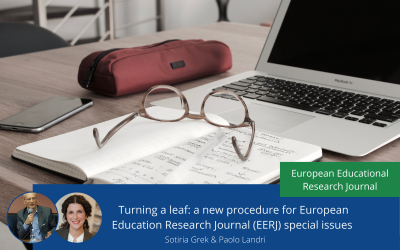 Turning a leaf: a new procedure for European Education Research Journal Special Issues