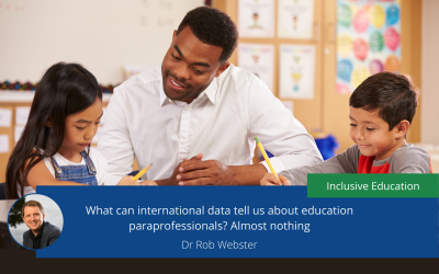 What can international data tell us about education paraprofessionals? Almost nothing