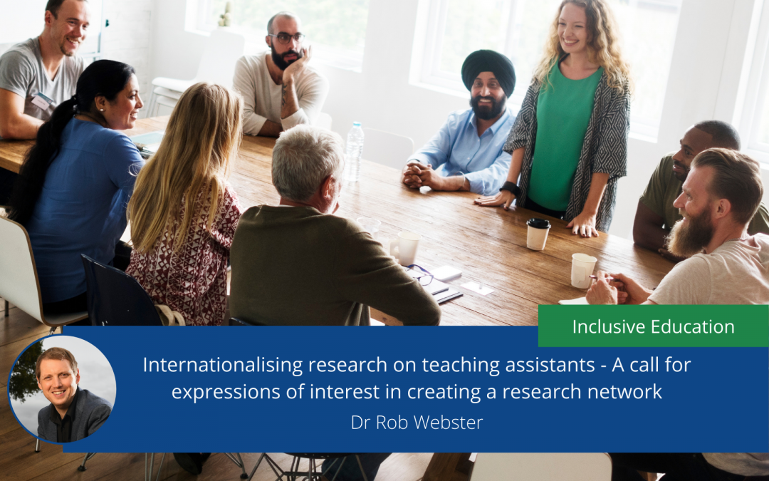 Internationalising research on teaching assistants: A call for expressions of interest in creating a research network