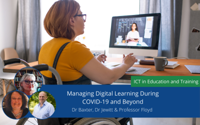 Managing Digital Learning during COVID-19 and Beyond