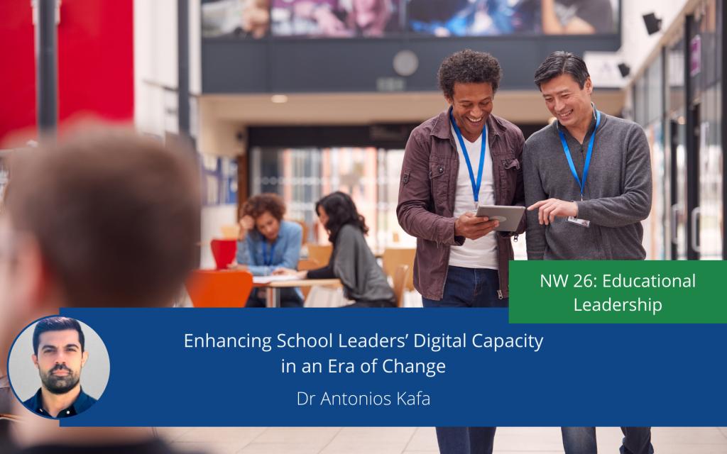 Enhancing School Leaders' Digital Capacity in an Era of Change
